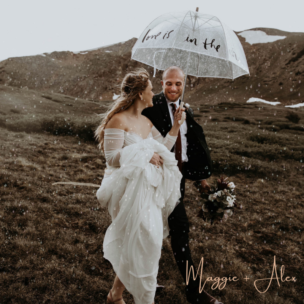 Maggie + Alex' Mountaintop Destination Elopement