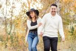 Fall engagement session in Denver, Colorado