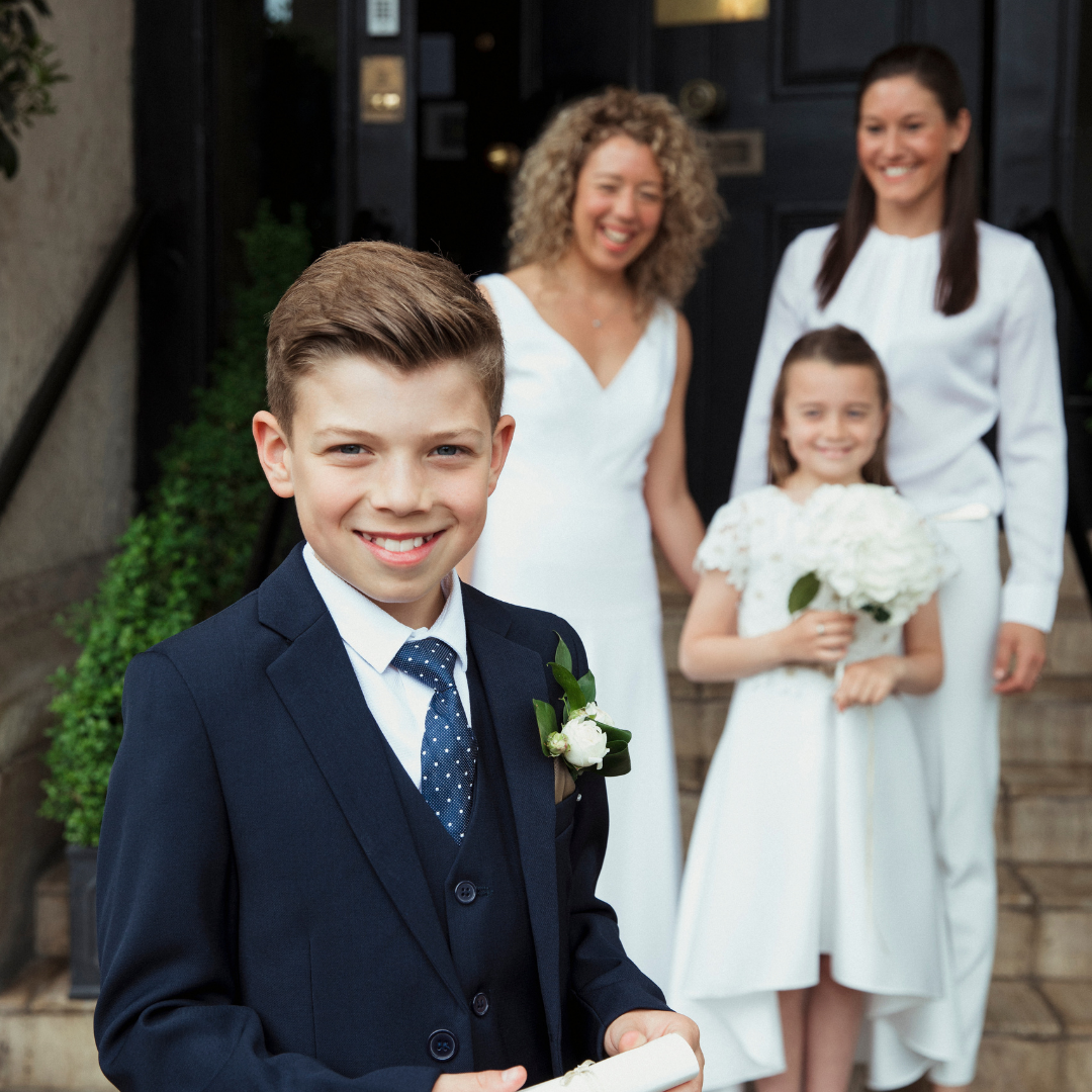 Making Room for Everyone in Your Blended Family Wedding